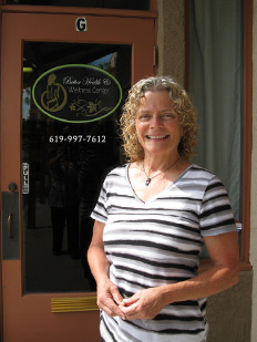 Janice Thompson welcomes you to the San Diego Wellness Massage Center in Poway